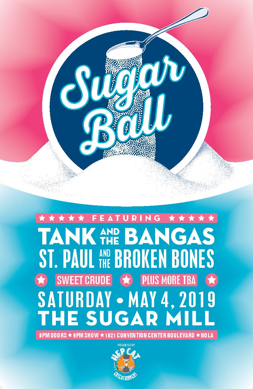 Sugar Ball: Tank and the Bangas, St. Paul and the Broken Bones, Sweet Crude, plus more TBA